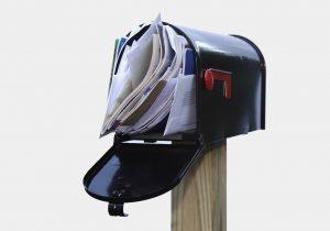 brievenbus dicht